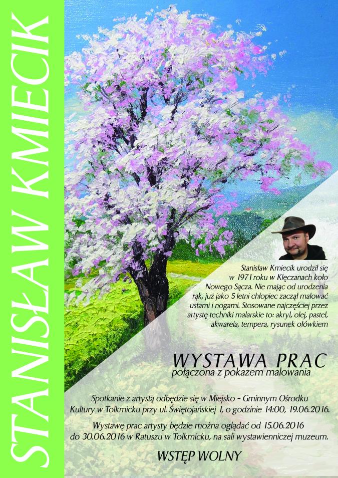 Plakat Stanisław Kmiecik